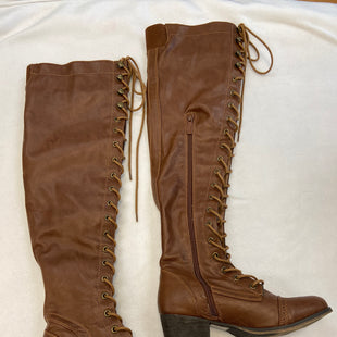 Primary Photo - BRAND: BRECKELLES STYLE: BOOTS KNEE COLOR: BROWN SIZE: 6 SKU: 240-24052-51911