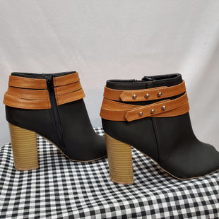 Primary Photo - BRAND: QUPID STYLE: BOOTS ANKLE COLOR: BLACK SIZE: 7.5 SKU: 240-24092-10