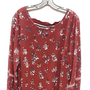 Primary Photo - BRAND: MAURICES STYLE: DRESS SHORT LONG SLEEVE COLOR: MAROON SIZE: 2X SKU: 240-24052-48199