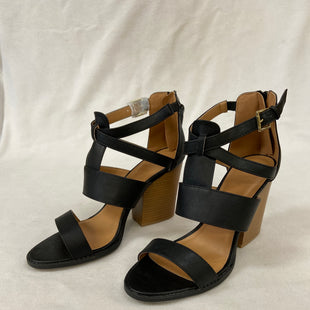 Primary Photo - BRAND: CHARLOTTE RUSSE STYLE: SANDALS HIGH COLOR: BLACK SIZE: 10 SKU: 240-24083-9121