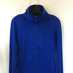 Primary Photo - BRAND: UNDER ARMOUR STYLE: ATHLETIC JACKET COLOR: BLUE SIZE: S SKU: 240-24049-57881