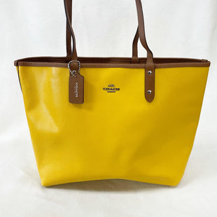 Primary Photo - BRAND: COACH STYLE: TOTE COLOR: SUN SIZE: LARGE OTHER INFO: REVERSIBLE TOTE SKU: 240-24093-1156