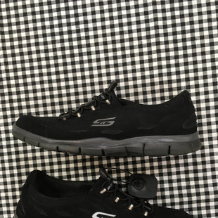 Primary Photo - BRAND: SKECHERS STYLE: SHOES ATHLETIC COLOR: BLACK SIZE: 9 SKU: 240-24052-48101
