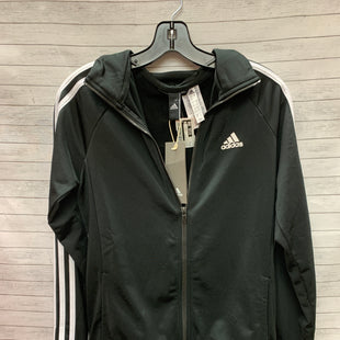 Primary Photo - BRAND: ADIDAS STYLE: ATHLETIC JACKET COLOR: BLACK WHITE SIZE: S SKU: 240-24052-53029