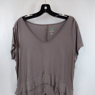 Primary Photo - BRAND: GREEN TEA STYLE: ATHLETIC TOP SHORT SLEEVE COLOR: TAUPE SIZE: L OTHER INFO: ATHLETIC SKU: 240-24049-58675