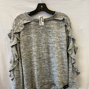 Primary Photo - BRAND: AUGUST SILK STYLE: TOP LONG SLEEVE COLOR: GREY SIZE: L SKU: 240-24052-51494