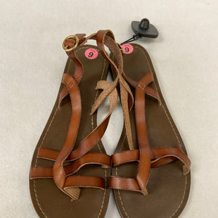 Primary Photo - BRAND: FADED GLORY STYLE: SANDALS FLAT COLOR: TAN SIZE: 9 SKU: 240-24071-4955