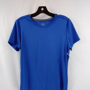 Primary Photo - BRAND: DANSKIN NOW STYLE: ATHLETIC TOP COLOR: BLUE SIZE: M SKU: 240-24071-5840
