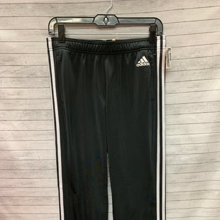 Primary Photo - BRAND: ADIDAS STYLE: ATHLETIC PANTS COLOR: BLACK WHITE SIZE: S SKU: 240-24052-53030