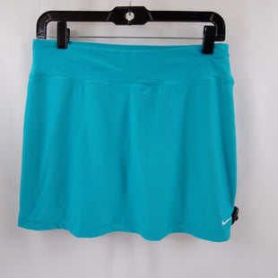 Primary Photo - BRAND: NIKE APPAREL STYLE: ATHLETIC SKIRT SKORT COLOR: BLUE SIZE: M SKU: 240-24049-58981