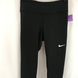 Primary Photo - BRAND: NIKE APPAREL STYLE: ATHLETIC CAPRIS COLOR: BLACK SIZE: S SKU: 240-24083-10411