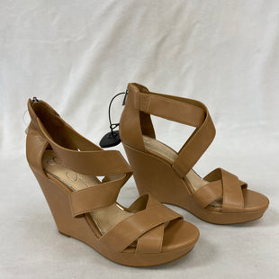 Primary Photo - BRAND: JESSICA SIMPSON STYLE: SANDALS HIGH COLOR: TAN SIZE: 9 SKU: 240-24083-9124
