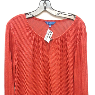 Primary Photo - BRAND: APT 9 STYLE: TOP LONG SLEEVE COLOR: RED SIZE: XL SKU: 240-24049-46200