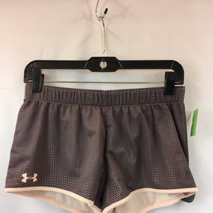 Primary Photo - BRAND: UNDER ARMOUR STYLE: ATHLETIC SHORTS COLOR: MAUVE SIZE: S OTHER INFO: REVERSABLE SKU: 240-24049-57893