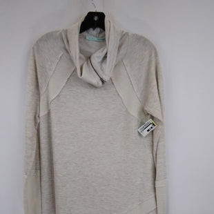 Primary Photo - BRAND: MAURICES STYLE: TOP LONG SLEEVE COLOR: OATMEAL SIZE: L SKU: 240-24052-56760