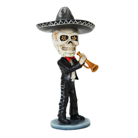 Mariachi Day of the Dead Trumpet Player - Highway Thirty One