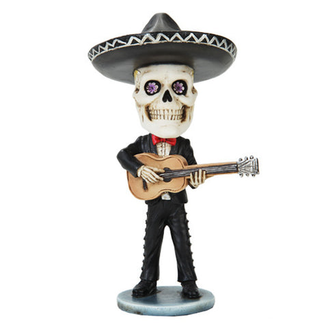 Mariachi Day of the Dead Guitar Player - Highway Thirty One