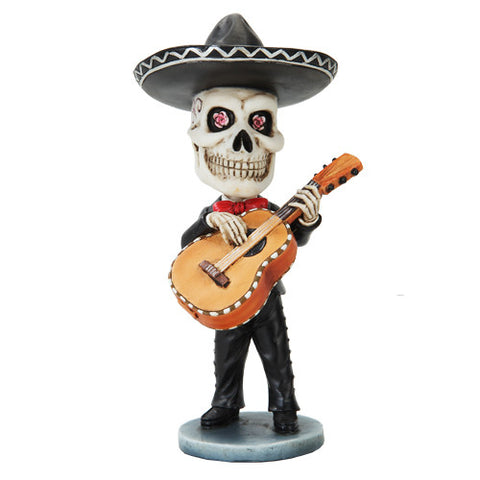 Mariachi Day of the Dead Guitarron Player - Highway Thirty One