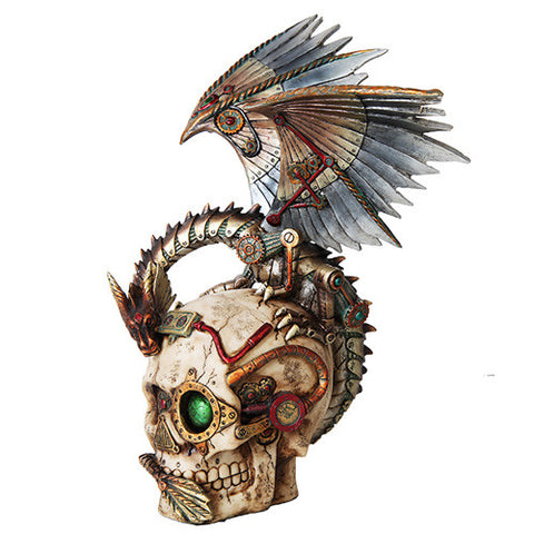 Steampunk Dragon Skull - Highway Thirty One