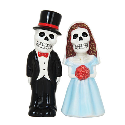 Day of the Dead Love Never Dies Salt and Pepper Shaker - Highway Thirty One