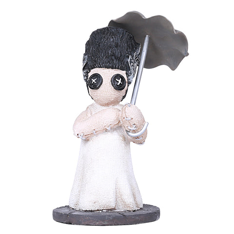 Bride of Frankenstein carrying Umbrella - Pinhead Monster