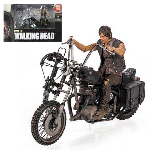 Daryl Dixon Deluxe Set with Motorcycle - Walking Dead - Highway Thirty One