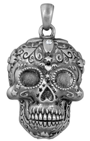 Sugar Skull Pendant - Highway Thirty One