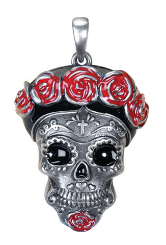 Day of the Dead Frida Pendant - Highway Thirty One