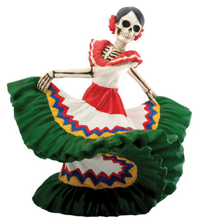 Day of the Dead - Dancing Senorita Green - Highway Thirty One