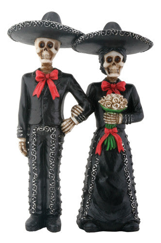 Mariachi Day of the Dead Couple - Highway Thirty One