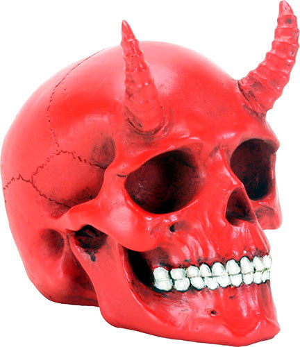 Red Demon Skull