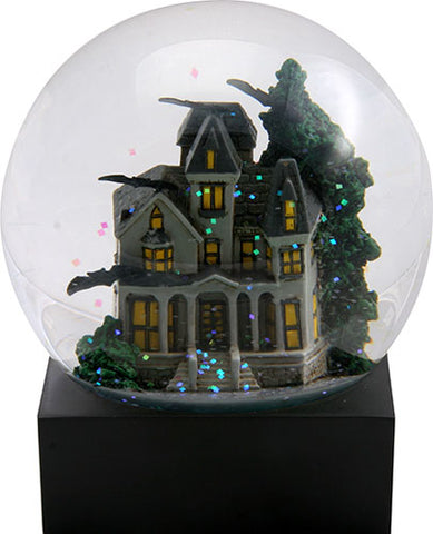 Haunted House Water Globe