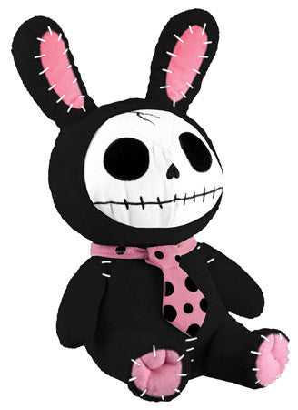 Furrybones® Black Bun Bun Plush - Highway Thirty One