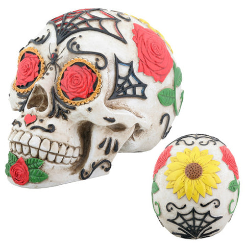 Day of the Dead Tattoo Sugar Skull - Highway Thirty One