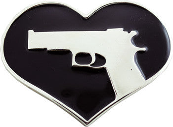 Heart With the Gun Belt Buckle - Highway Thirty One