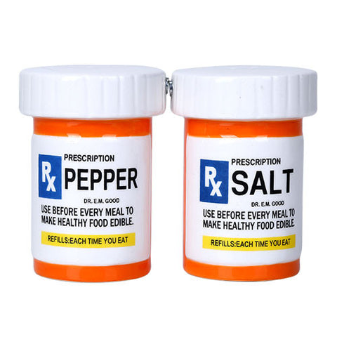 RX Salt and Pepper Shaker