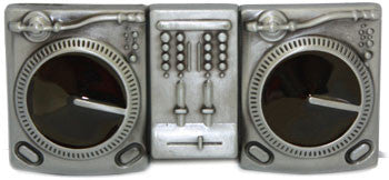DJ turntable Belt Buckle - Highway Thirty One