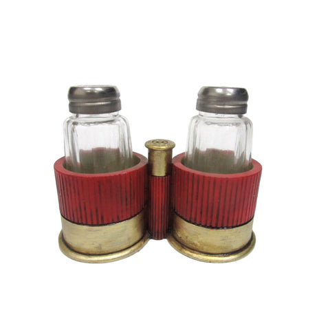Shotgun Casing Salt and Pepper Shaker