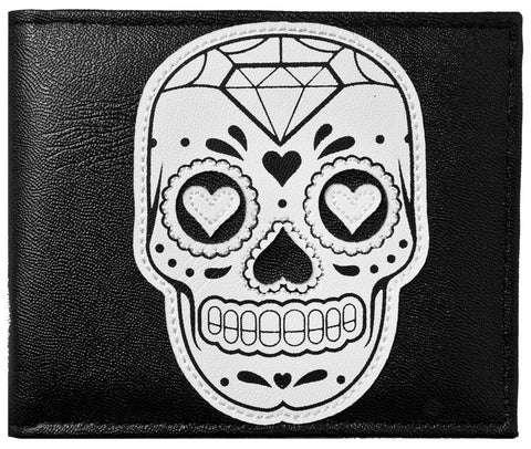 Sourpuss Sugar Skull Wallet - Highway Thirty One
