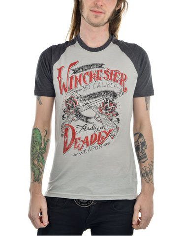 Winchester - Mens T-Shirt - Highway Thirty One