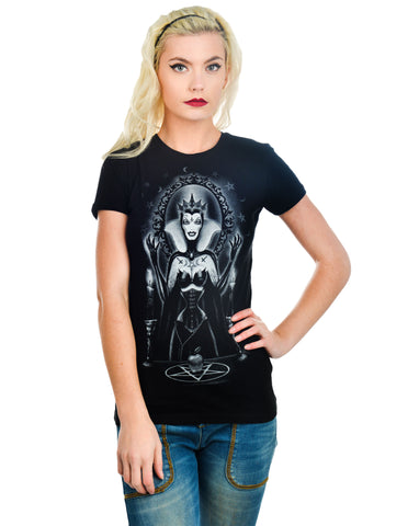 Evil Queen - Babydoll T-Shirt by Too Fast - Highway Thirty One
