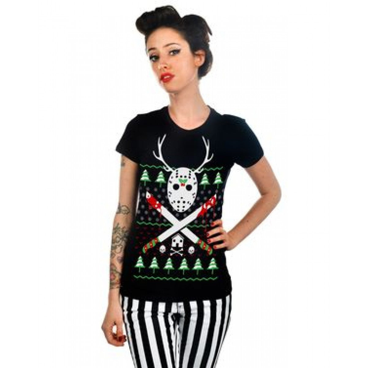 Reindeer Games - Babydoll T-Shirt by Too Fast - Highway Thirty One