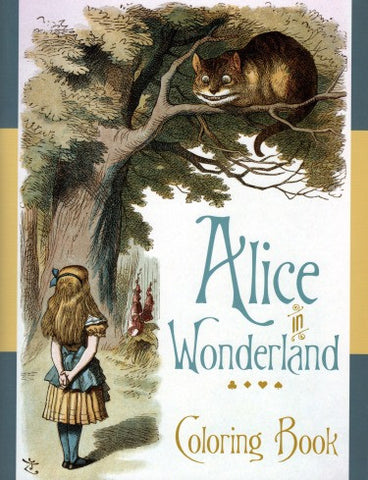 Alice in Wonderland Coloring Book - Highway Thirty One