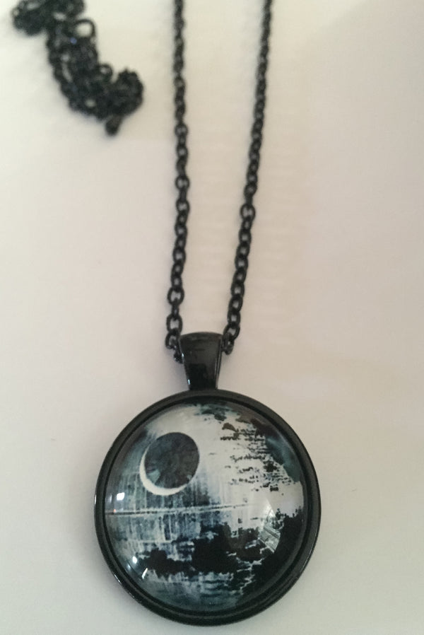 Death Star pendant Necklace - Highway Thirty One