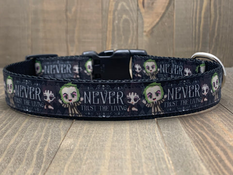 Beetlejuice Pet Collar