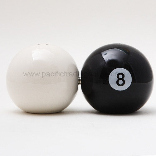 Eight Ball Salt and Pepper Shaker - Highway Thirty One