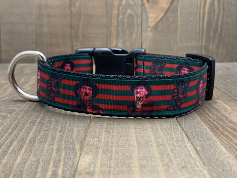 Freddy Krueger, Nightmare on Elm Street,  Pet Collar