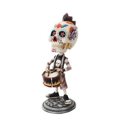 Day of the Dead Bobblehead Snare Drummer - Highway Thirty One