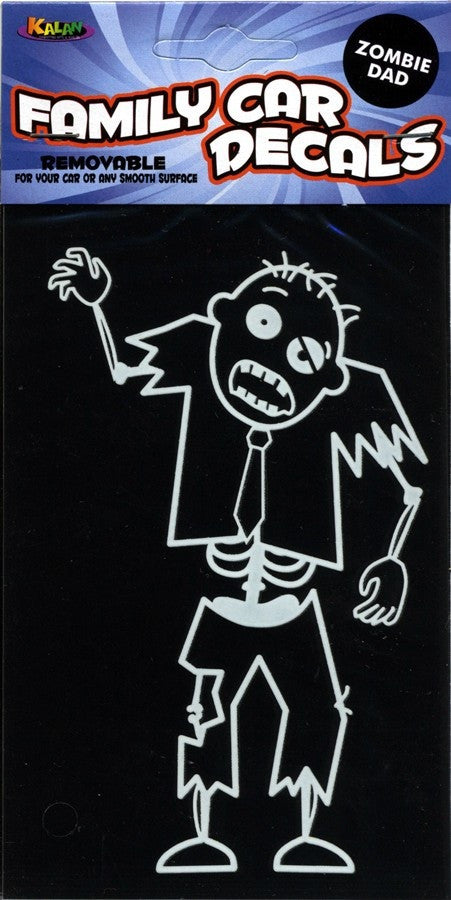 Zombie Dad Window Decal - Highway Thirty One