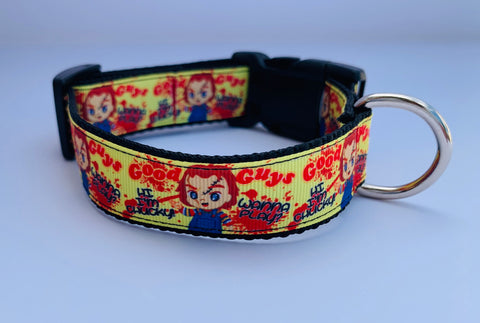 Chucky Classic Horror Pet Collar